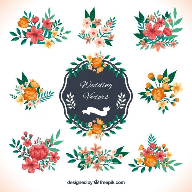 Best Free Vector Wedding Elements Images On Pinterest Hunting