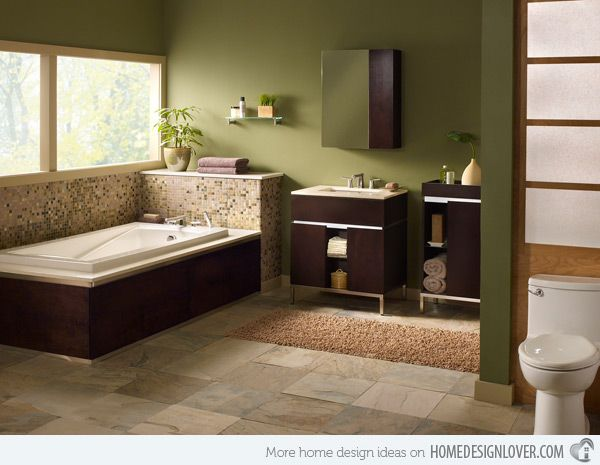 Best 25+ Green Bathrooms Ideas On Pinterest