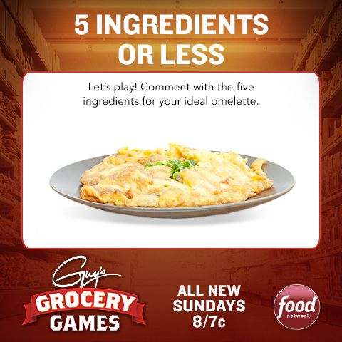 Before Guy's #GroceryGames returns this Sunday at 8|7c, play from home!: Food Network, Grocery Games, Guys Grocerygam, 8 7C, Breakfast Lunches Us, Ideas Food Class, Games Return, Foodnetwork, Crafts