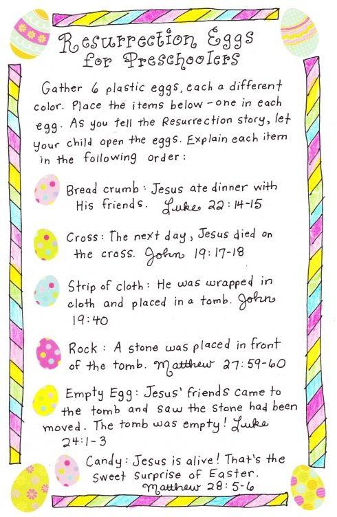 Easter Story for Toddler