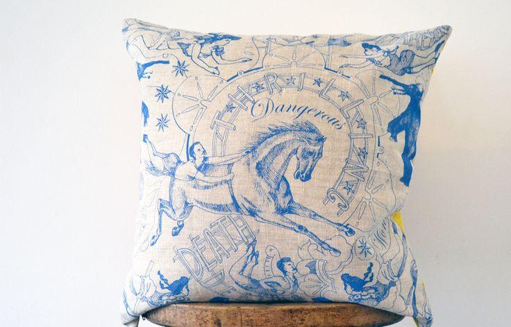 Daniel Heath Cushions - Mockbee & Co. www.patternsnap.com
