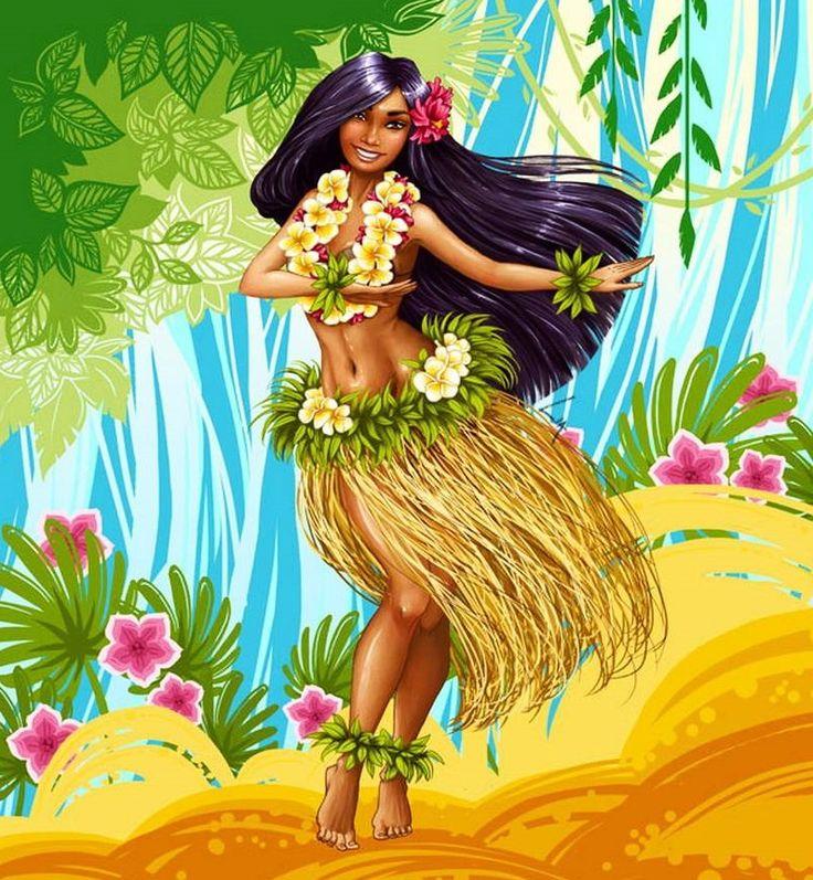 Картинки с гавайской