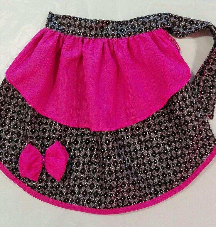 Layered skirt for girls