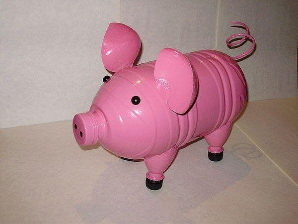yard pig  Розовые поросята - поделки для двора. Обсуждение на LiveInternet - Российский Сервис Онлайн-Дневников