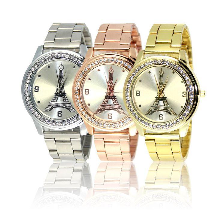 $8.42 (Buy here: https://alitems.com/g/1e8d114494ebda23ff8b16525dc3e8/?i=5&ulp=https%3A%2F%2Fwww.aliexpress.com%2Fitem%2F2017-Fashion-Women-Eiffel-Tower-Gold-Watch-Ladies-Stainless-Steel-Rhinestone-Dress-Quartz-Watch-damske-hodinky%2F32773321887.html ) 2017 Fashion Women Eiffel Tower Gold Watch Ladies Stainless Steel Rhinestone Dress Quartz-Watch damske hodinky relogios feminino for just $8.42