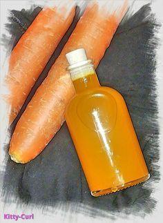 Karottenöl Mazerate selber machen Vitamin A E Haut Haar Beta-Carotin Öle für fettige trockene Haut Mischhaut
