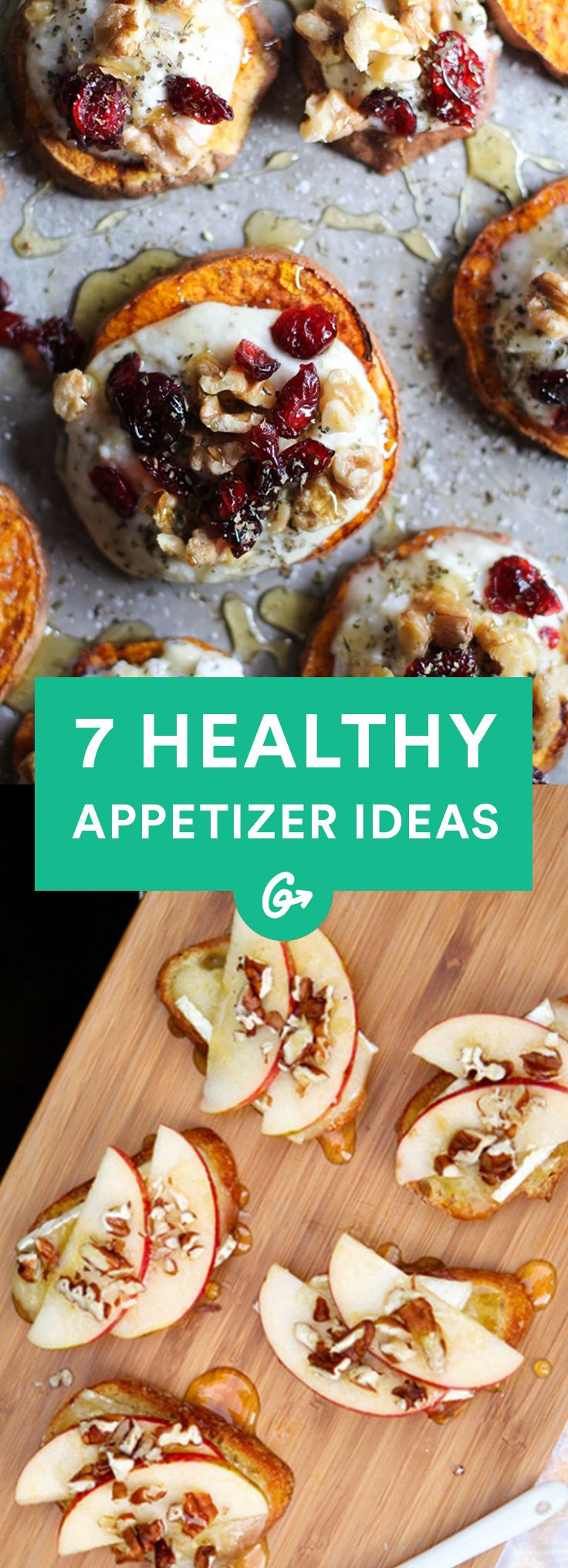 Ladies and gentlemen, start your engines.  #healthy #appetizers http://greatist.com/eat/healthy-holiday-appetizers