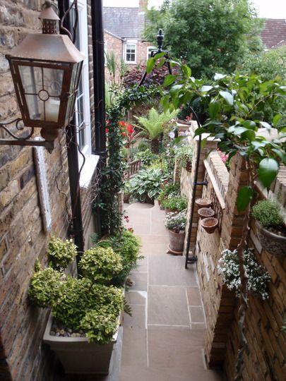 Side return garden