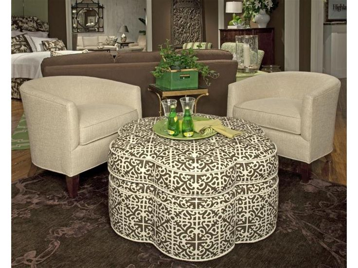 Highland House Living Room Brigitte Ottoman 1000 41C   Elite Interiors   Myrtle  Beach,