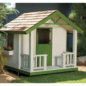 U-Bild Cottage Playhouse Woodworking Plan 942