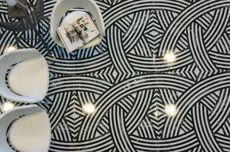 Velkoformátová dlažba s imitací mramoru Bella Bianco   Keramika Soukup