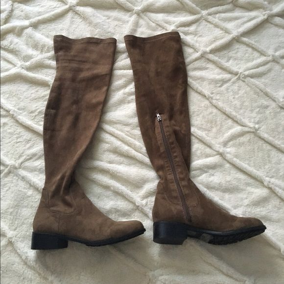 25 best ideas about thigh high boots flat on