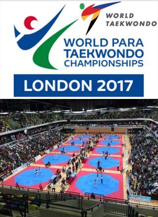 Το 7ο Παγκόσμιο Πρωτάθλημα Para Taekwondo 2017 θα φιλοξενηθεί στο Λονδίνο