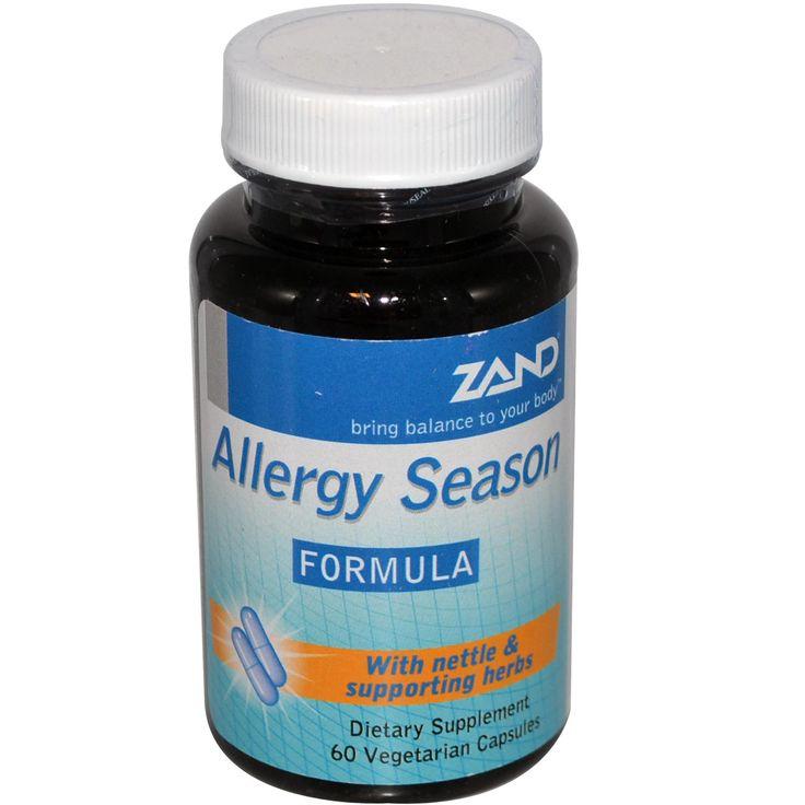 Zand, Allergy Season Formula, 60 Veggie Caps - iHerb.com