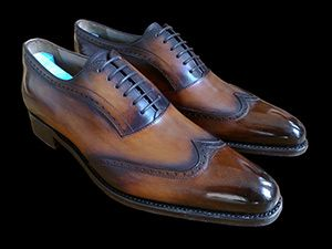 """Give ya shoes the look that says """"my grandaddy have me these. But he kept then clean though"""""""