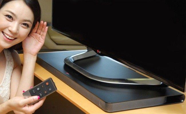 ¡Actualidad! LG Sound Plate, la barra de sonido que busca la excelencia. La compañía LG, además de ser una de las más reconocidas en el ámbito de tabletas, móviles y televisores, también quiere darse a conocer en el mercado de los parlantes. Y es que en el IFA 2013 presentaron su LG Sound Plate; barra de sonido creada especialmente para los TV más delgados. #LGSoundPlate #LG #TV