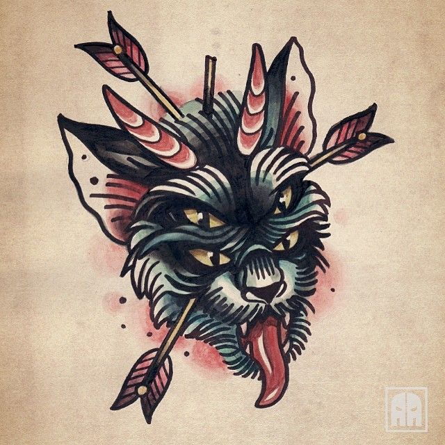 awesome tattoo flash