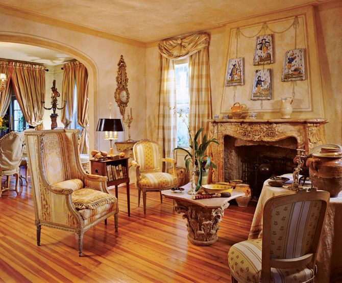 French Decorating By Diane Burn Designer At Her Home Palm Beach FL