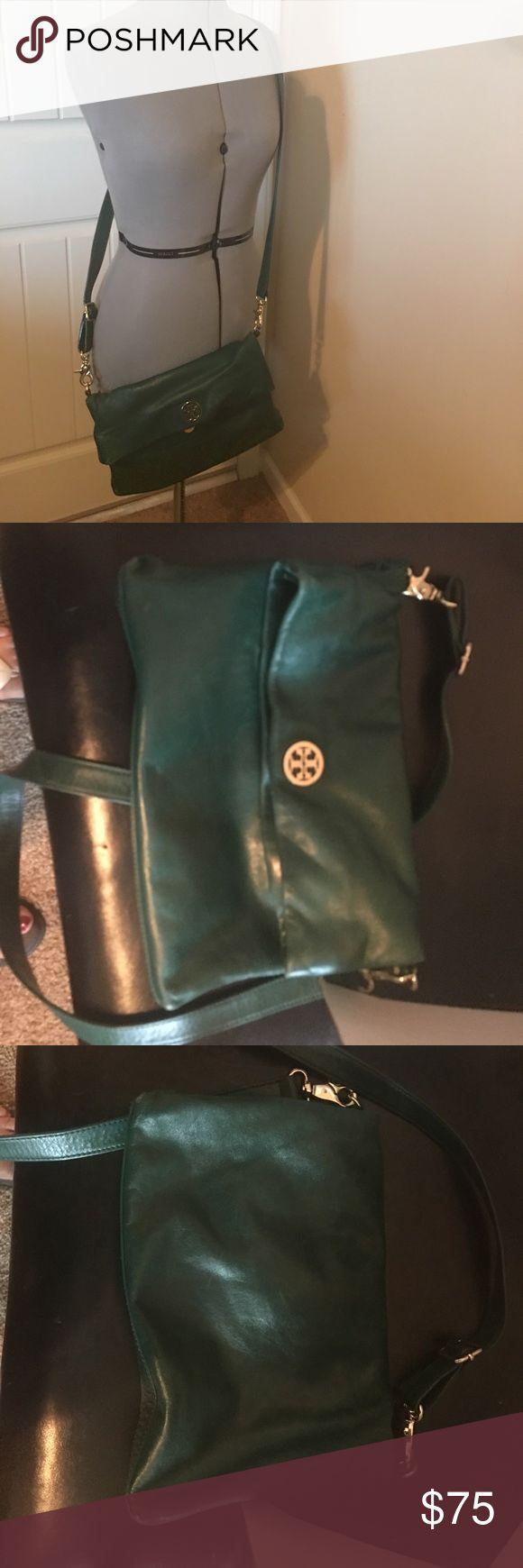 Tory Burch green crossover bag Tory Burch green crossover bag Tory Burch Bags Crossbody Bags