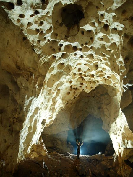 Grotte Marie Jeanne in Port a Piment, Haiti.