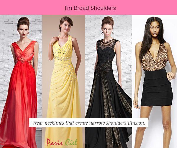 Maxi dress broad shoulders