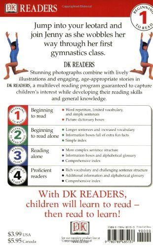 DK Readers: First Day at Gymnastics (Level 1: Beginning to Read)