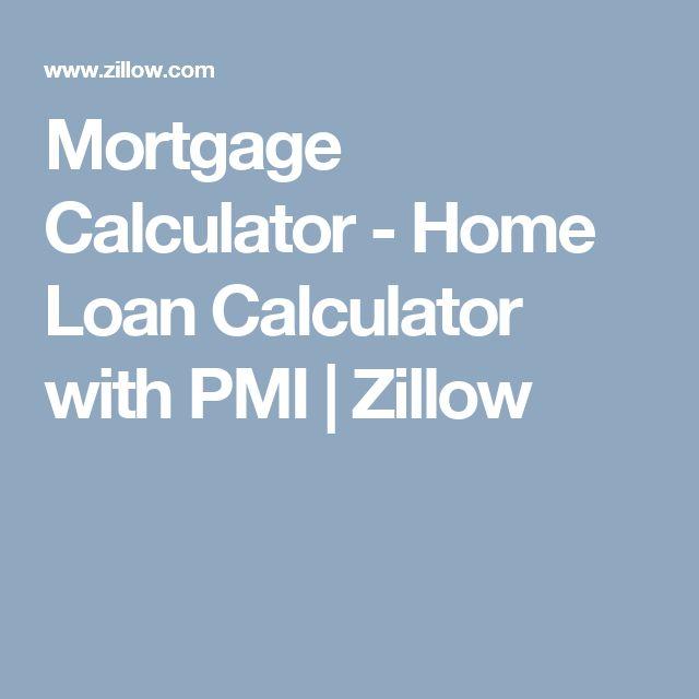 Mortgage Calculator - Home Loan Calculator with PMI | Zillow