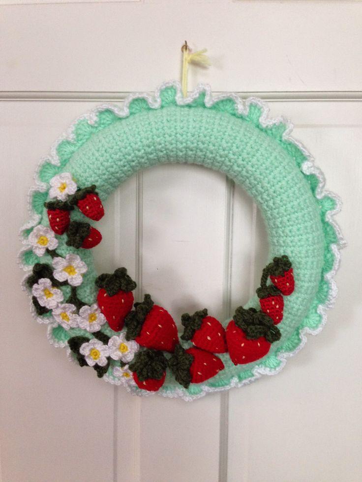 100 Best Images About Crochet Door Wreaths On Pinterest