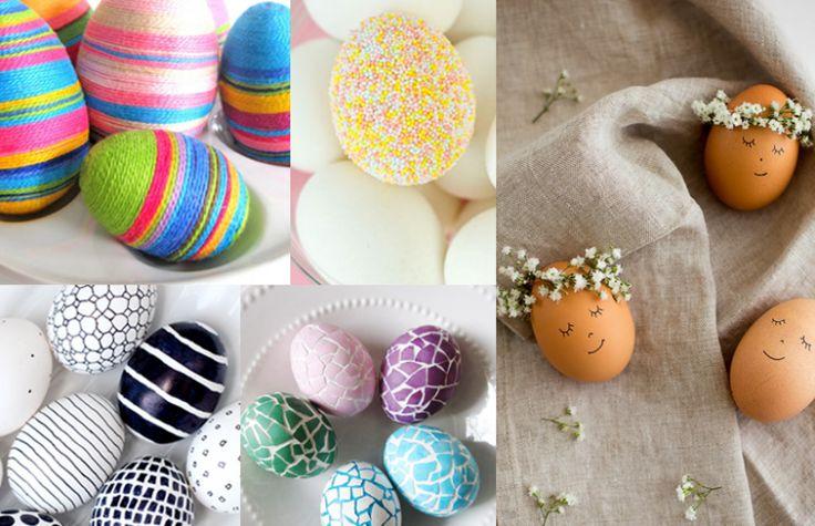 5 cele mai creative idei pentru vopsit ouăle de Paște