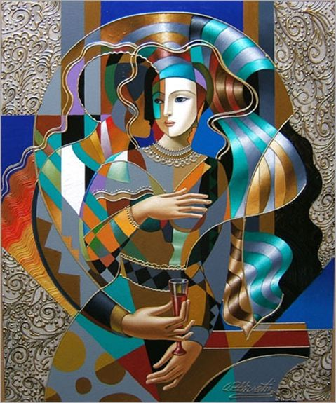 """Contemplating"" by Oleg Zhivetin."