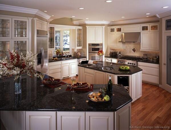 Antique White Kitchen Dark Floors 75 best antique white kitchens images on pinterest | antique white