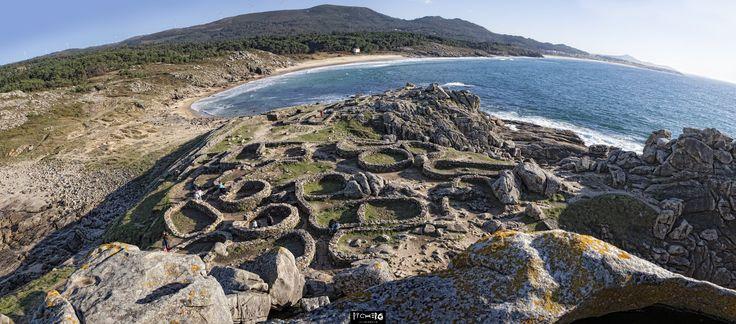 Castro de Baroña (Porto do Son)-Ría de Noia y Muros