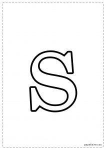 S-Abecedario-letras-grandes-imprimir-minusculas
