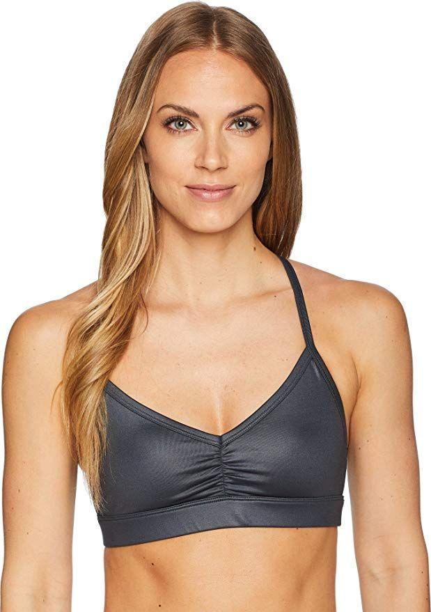 7fc3363c512c3 Alo Yoga Women s Sunny Strappy Bra at Amazon Women s Clothing store ...