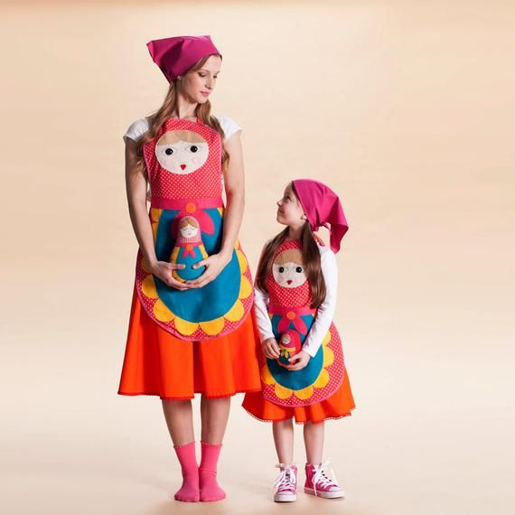 You/&Me Collection Russian nesting doll costume for women and teenegers