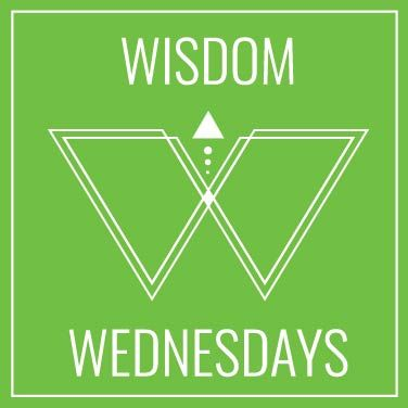 Sign up for Wisdom Wednesdays and spark your mind with a quote from an inspiring human.