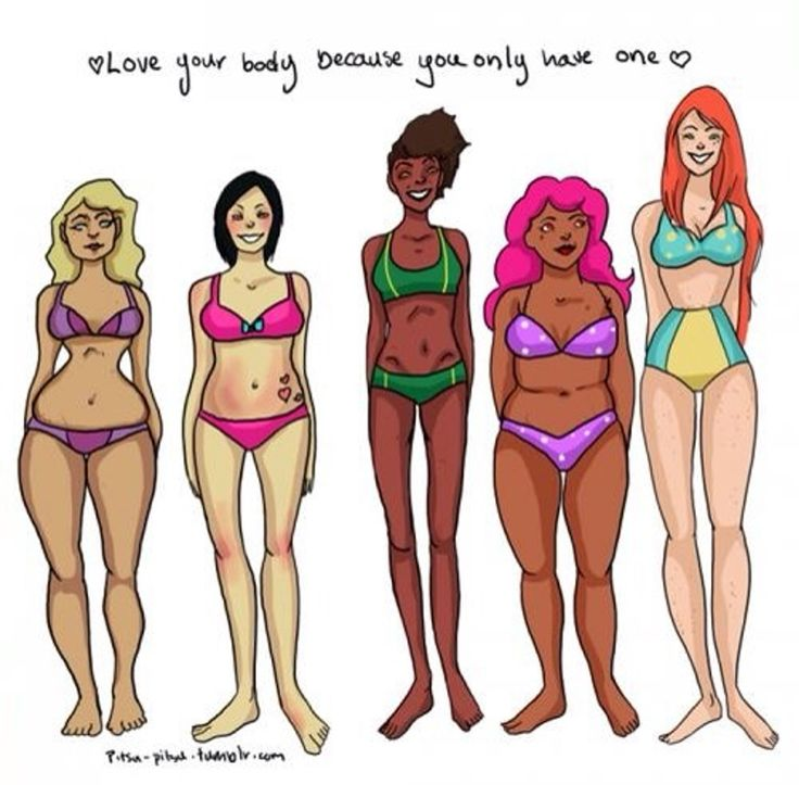 We all have days when we feel insecure or unhappy with our bodies; they're a part of being a human. Having a bad body image dayhappens, so instead of beating yourself up the next time you have one, try to surround yourself with body positive quotes