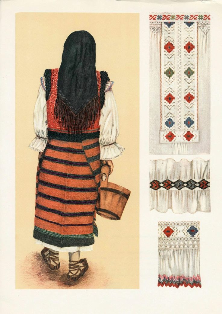 Romanian folk costume
