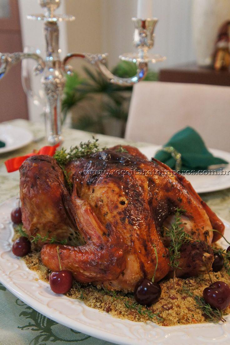 No Natal o prato principal é o peru, esta ave deve estar bonita, saborosa e suculenta. Siga o passo a passo dessa deliciosa receita com um toque especial de laranja e garanta o sucesso da dessa noite tão especial.  Leia mais...