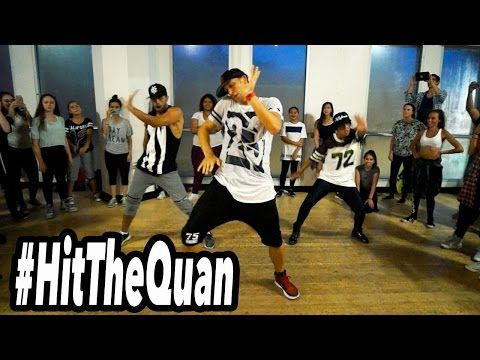 HIT THE QUAN - @IHeartMemphis Dance (Class) | @MattSteffanina Choreography #HitTheQuan - YouTube