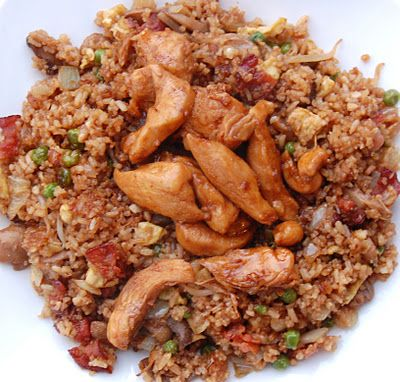 Cassie Craves: Honey Teriyaki Chicken with Bacon Fried Rice