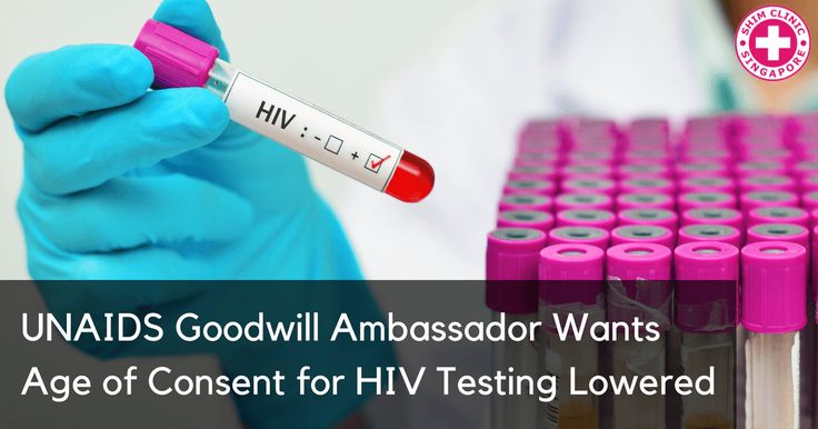 UNAIDS Goodwill Ambassador Wants Age of Consent for HIV Testing Lowered - Read here: https://www.shimclinic.com/blog/unaids-goodwill-ambassador-wants-age-of-consent-for-hiv-testing-lowered. #ShimClinic #AIDS #HIV #HIVmisconceptions #HIVtest #hivtesting #HIVtestingconsent