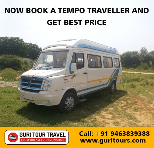 #Tempo #Traveller #Chandigarh to #Mussoorie at best discounted prices.