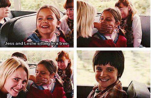 Bridge to terabithia! Love him in this movie. That's where it all started, my crush on Josh Hutcherson!