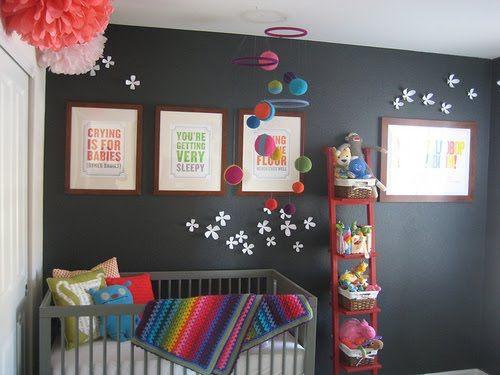Super fun nursery!