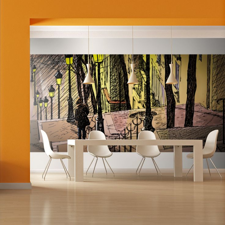 Votre intérieur est à 2 doigts de vous remercier  ---------------------------------------------------------------------  Papier peint XXL Lonely walk through Montmartre  à 139,97€  sur https://www.recollection.fr/papiers-peints-xxl-ville-et-architecture-paris/14805-papier-peint-xxl-lonely-walk-through-montmartre-3664551158619.html  #Paris #mobilier #deco #Artgeist #recollection #decointerior #interiordesign #design #home…