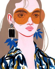 fashion + illustration   Julie de la Playa