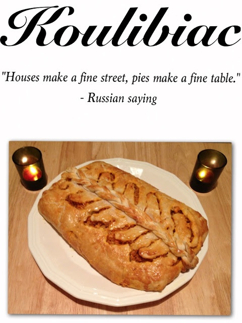 Check out the recipe for this lovely Russian fish pie dish on Pink Julep