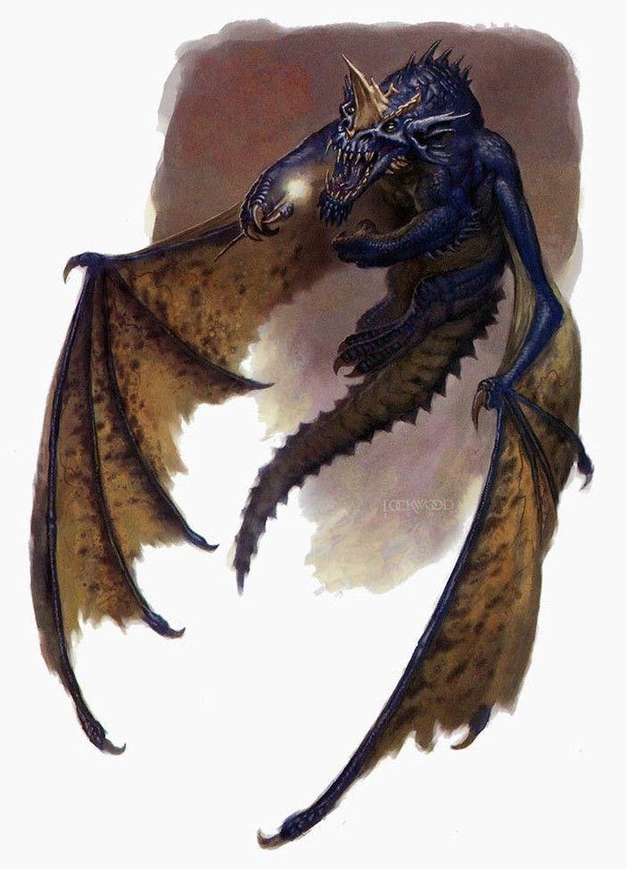 Todd Lockwood: Blue Dragon