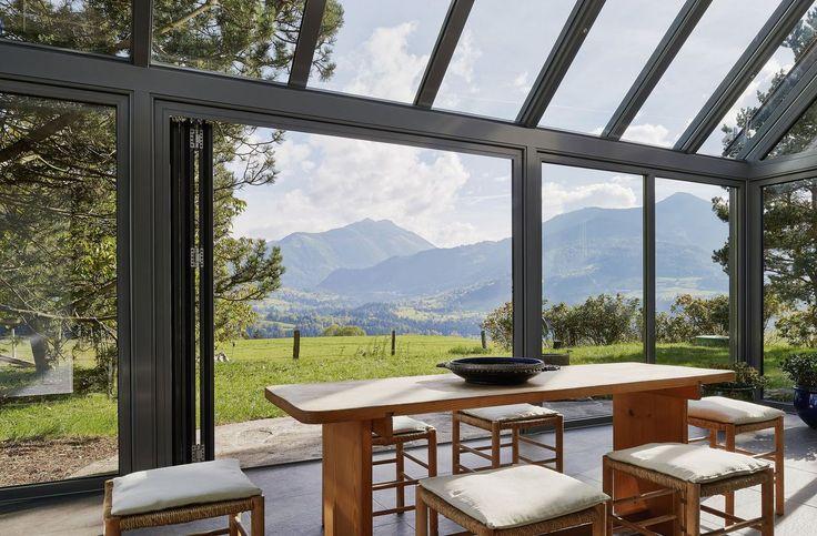 25 best ideas about veranda aluminium on pinterest pergola aluminium pergola en aluminium for Buiten patio model